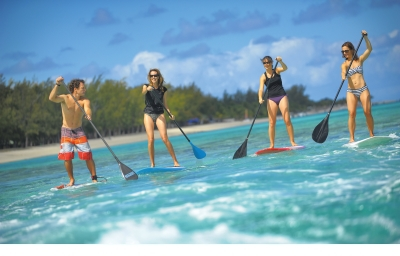 Water activities in Mauritius